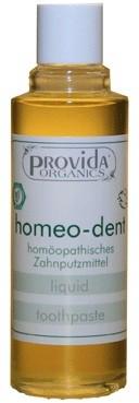 Provida Organics homeopaattinen hampaidenpuhdistusöljy