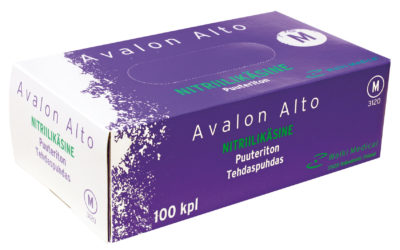 Avalon Alto nitriilikäsine